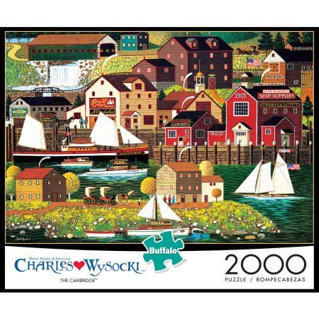 The Cambridge Puzzle, 2000-Pieces