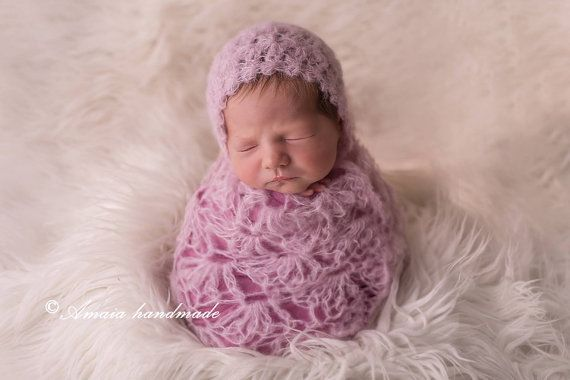 newborn photo prop baby girl photo prop girl by Amaiahandmade