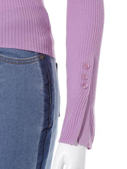 リブタートルプルオーバー(プルオーバー) Lily Brown(リリーブラウン) ファッション通販 ウサギオンライン公式通販サイト
