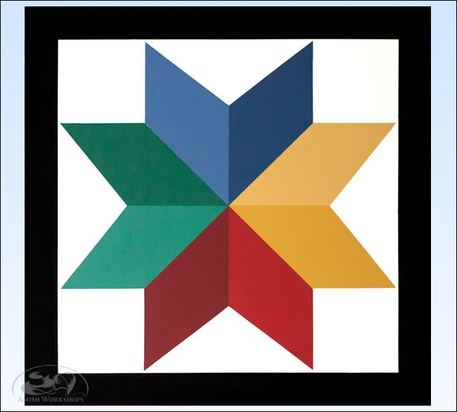 8-Point Star Barn Quilt