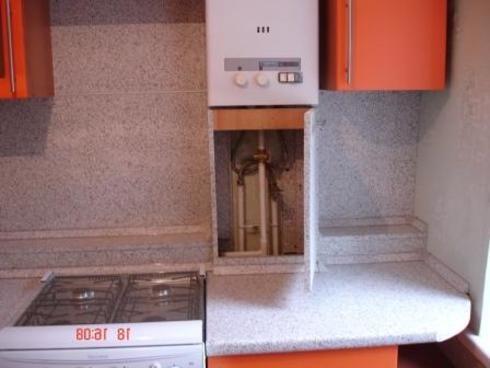 Pin как спрятать газовую трубу на кухне on Pinterest