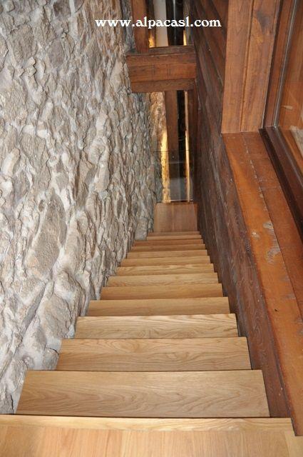 Mejores 12 im genes de escaleras revestidas en pinterest for Fabrica de escaleras de madera