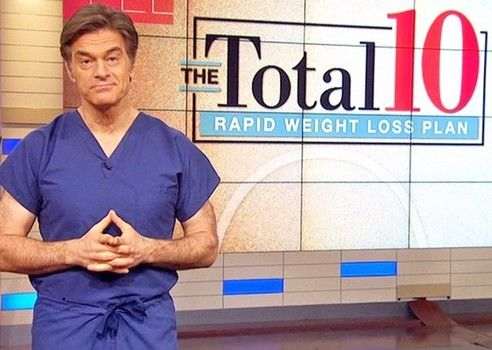 Dr. Oz said his Total 10 rapid weight loss diet can help you lose over 8 pounds in 2 weeks.