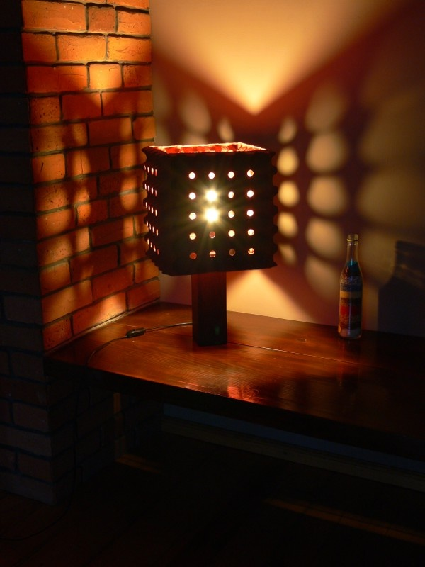 LAMPA [XIX] - ECO BEDSIDE LAMP - UPCYKLING - UPCYCLING