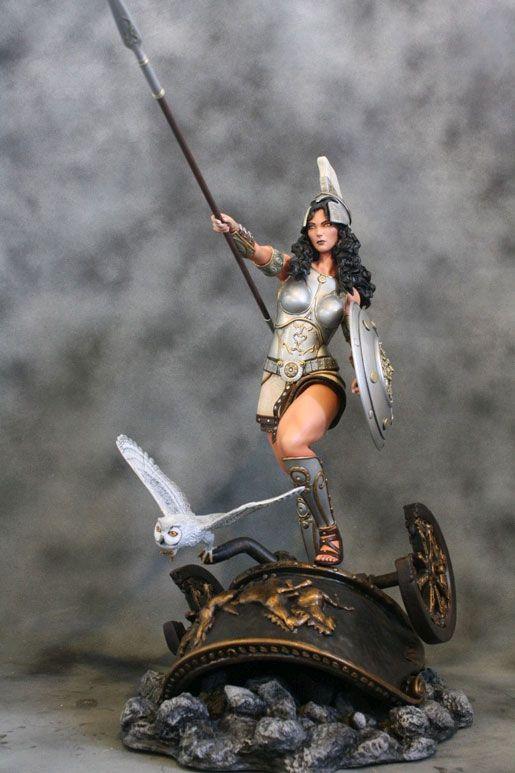 Athena+Goddess+of+Wisdom+Paintings | ... Miscellaneous » ATHENA GODDESS OF WISDOM AND WAR 1/4 SCALE STATUE