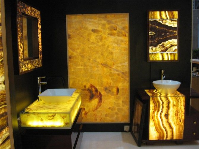 Modern contemporary bathroom interior design pictures to pin on - 17 Best Images About Onyx Countertops On Pinterest