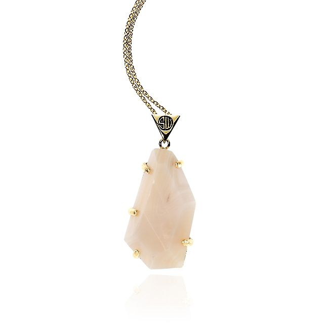 SAMANTHA WILLS - ROMANCING THE STONE NECKLACE - CHAMPAGNE