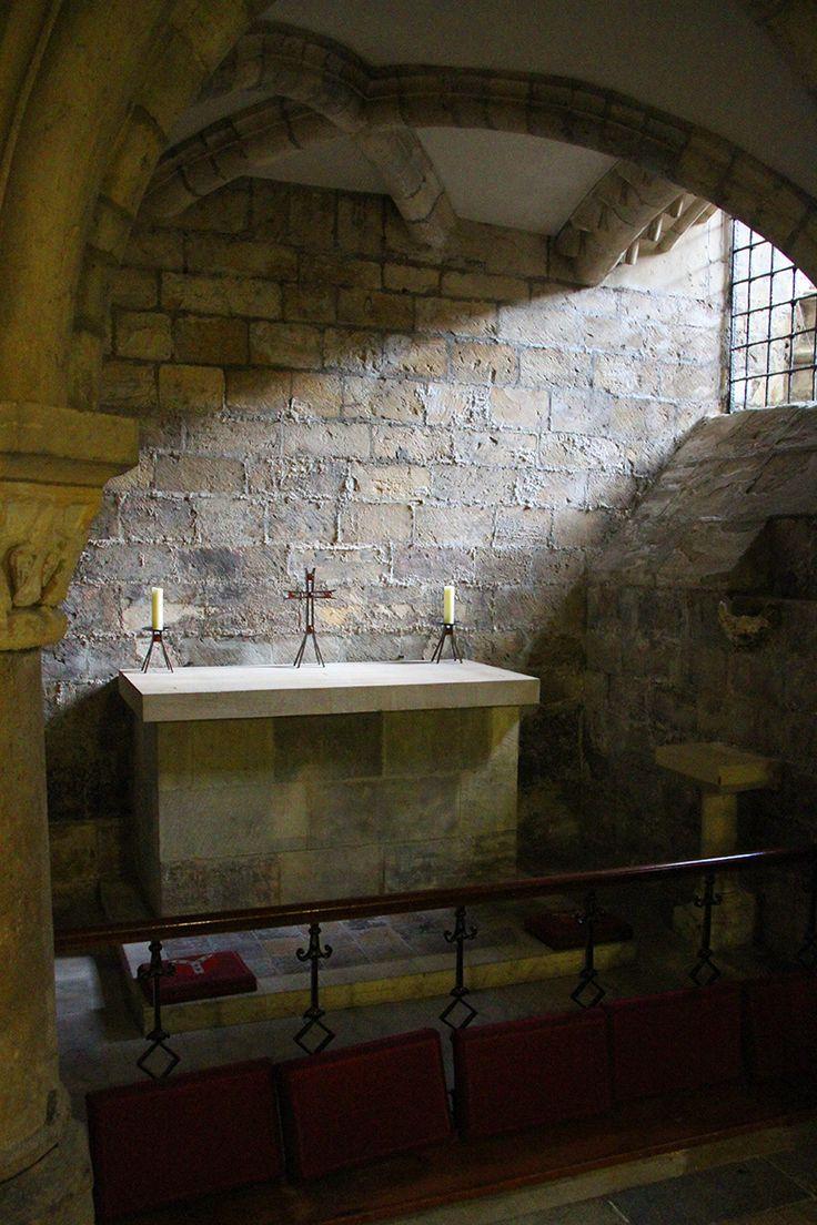 In the Undercroft, York Minster