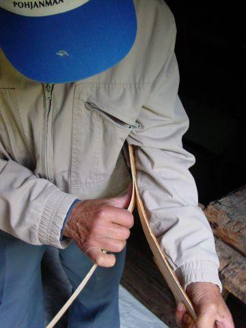 Päreen kiskominen koria varten | Vahvike