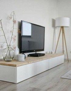 large living room TV