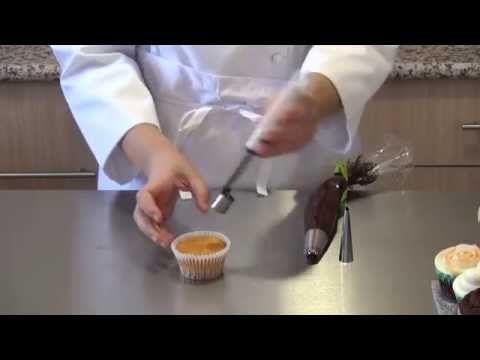 Curso en video #15 cómo rellenar cupcakes