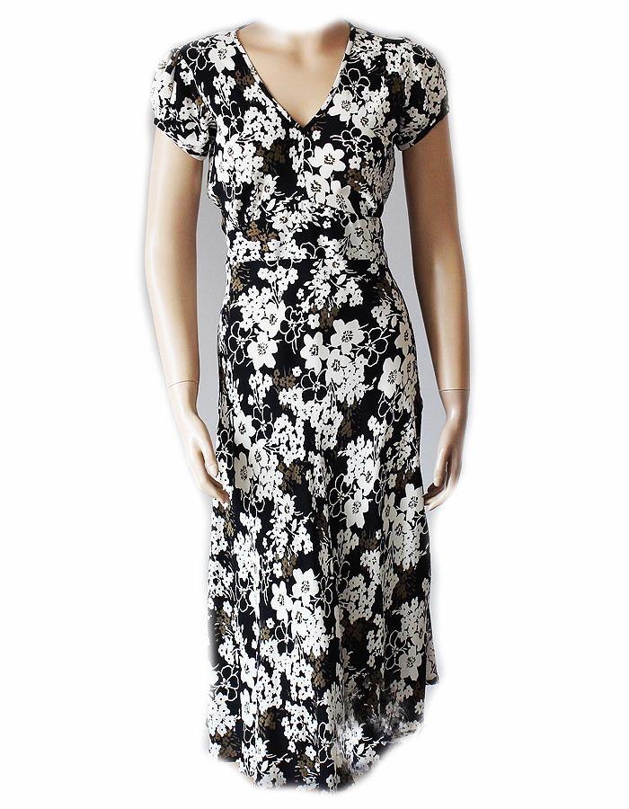 Nowon Zwiewna Sukienka Na Wiosne Lato J Nowa 38 40 7341137871 Oficjalne Archiwum Allegro Dresses Flower Dresses Short Sleeve Dresses