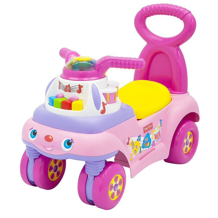 Fisher Price Music And Motion Ride On Pink | Toys R Us Australia