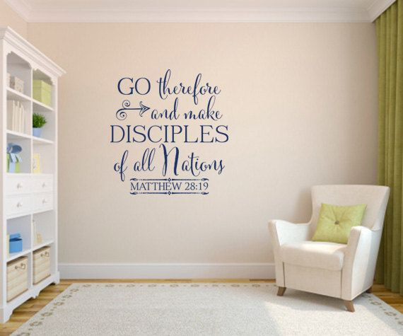 Best Verses And Quotes Images On Pinterest Bedroom Wall - How to make vinyl decals for walls