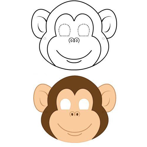 Fabriquer un masque de singe