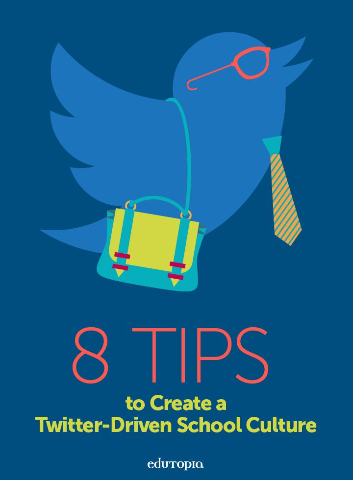 Administrators can create a more connected school culture by modeling Twitter use and encouraging staff to work, play, and learn through the medium.
