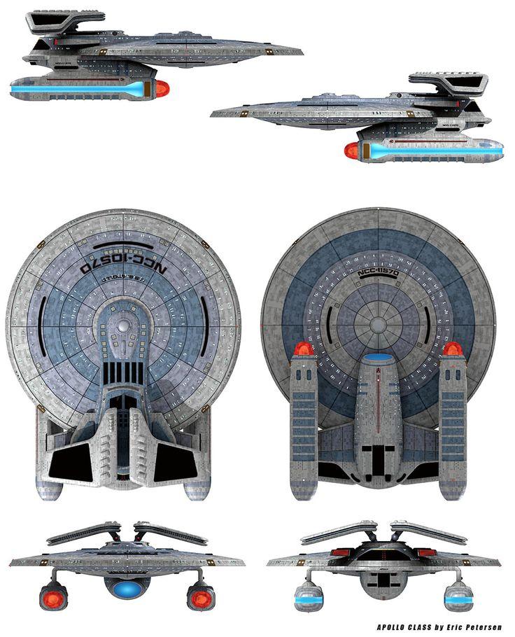 Starfleet ships • Posts Tagged 'fan design'