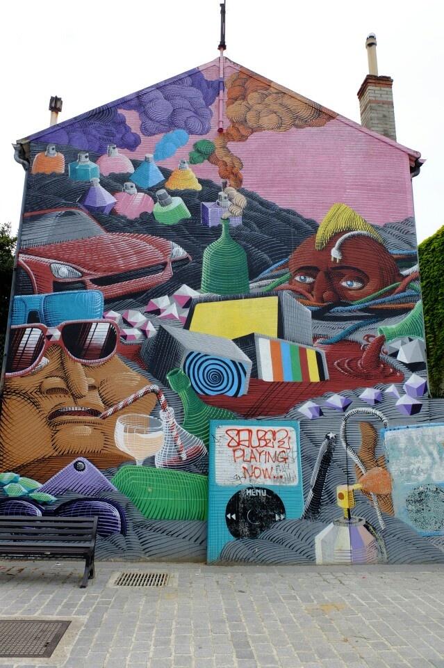 Street art - Vitry-sur-seine -  Rue Saint-Germain