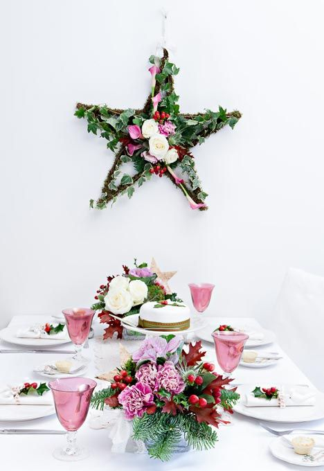 38 Best Images About Christmas Wreath Garlands And Table