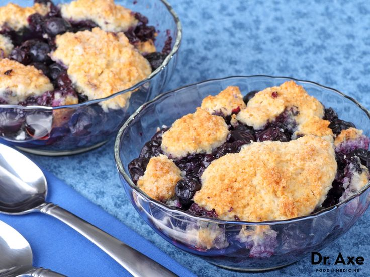 Blueberries, honey, flax meal, apple cider vinegar and more combine to make this healthy blueberry cobbler recipe one that is both sweet and healthy!