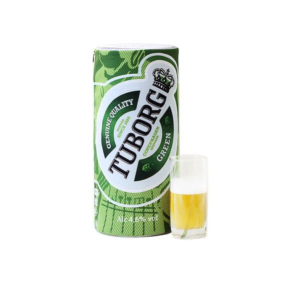 Pillow-bank of beer Tuborg от pandashoping на Etsy