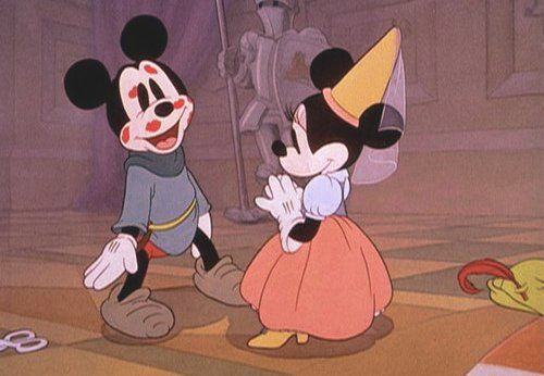 Mickey and Minnie will always be in love. You're my Mickey