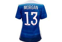 Nike Alex Morgan USA Away Jersey 2015