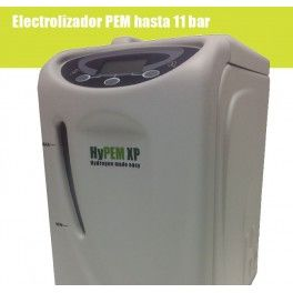 Generador de hidrógeno hypem 160 Generador de hidrógeno hypem 160  Hypem the hydrogen generator 160 is a generator that produces hydrogen 160cc per minute quality 5 99.999% purity, thus ensuring the smooth operation of hydrogen fuel cell generators that require a minimum quality of a 4 5 (99.995%).