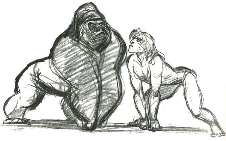 TARZAN ★    Art of Walt Disney Animation Studios © - Website   (www.disneyanimation.com) • Please support the artists and studios featured here by buying their works from their official online store (www.disneystore.com) • Find more artists at www.facebook.com/CharacterDesignReferences and www.pinterest.com/characterdesigh    ★
