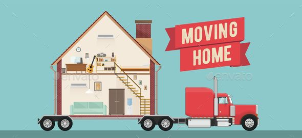 House Moving Service Banner or Flyer Template #Service, #Moving, #House,  #Template | Moving house, House moving service, Moving services