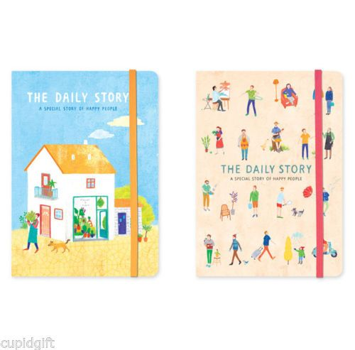 The-Daily-Story-Diary-Planner-Scheduler-Journal-Agenda-Organizer-Illustration