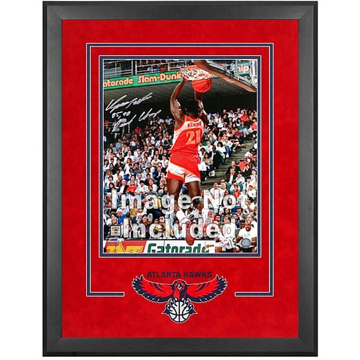 "Atlanta Hawks Fanatics Authentic 16"" x 20"" Deluxe Horizontal Frame with Team Logo - $179.99"