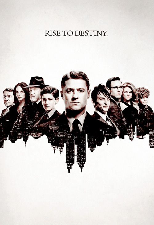 Gotham ~ the depth and complexity of these characters is artful.