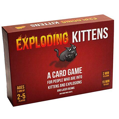 Buy Exploding Kittens Game Online at johnlewis.com