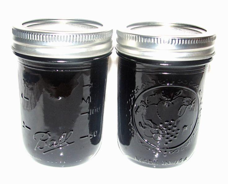 Food Preserving: Black Grape Jelly