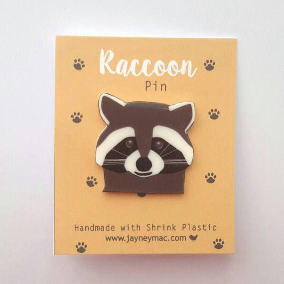 Mapache Pin pin de mapache plástico retráctil