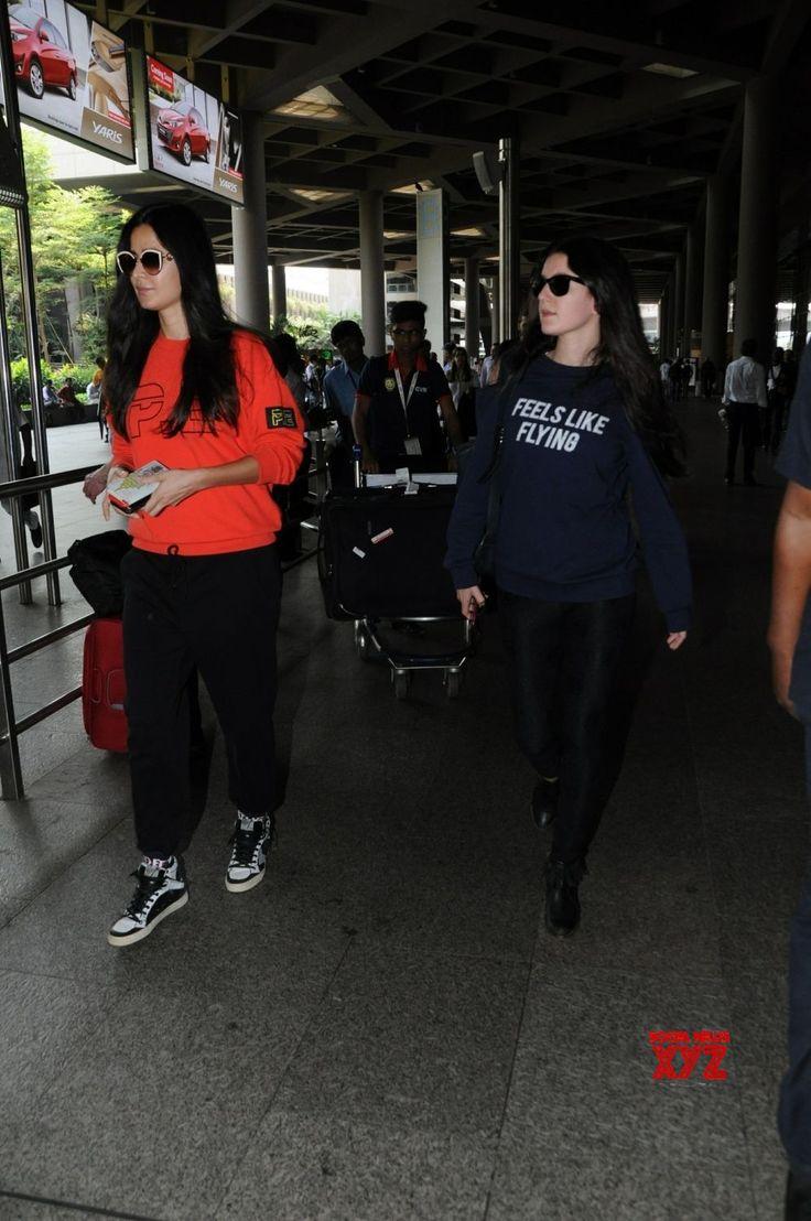 Mumbai: Katrina Kaif and Isabelle Kaif seen at Mumbai ...