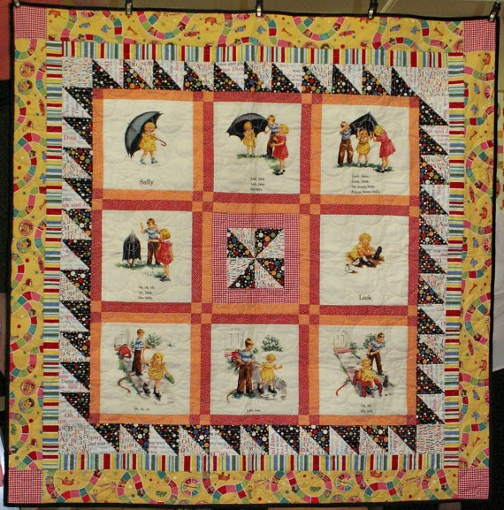 dick and jane quilts
