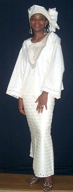 Традиционная одежда Западной Африки и мода, ей вдохновленная: color_harmony