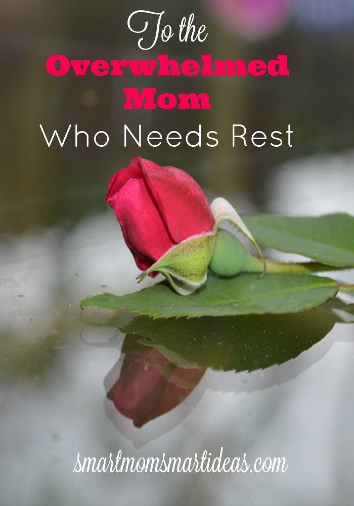 Are you the mom that feels overwhelmed by all your responsibilities?  Do you think you need a mommy time-out? Learn how even the busiest moms can rest and what you can do to feel more rested.