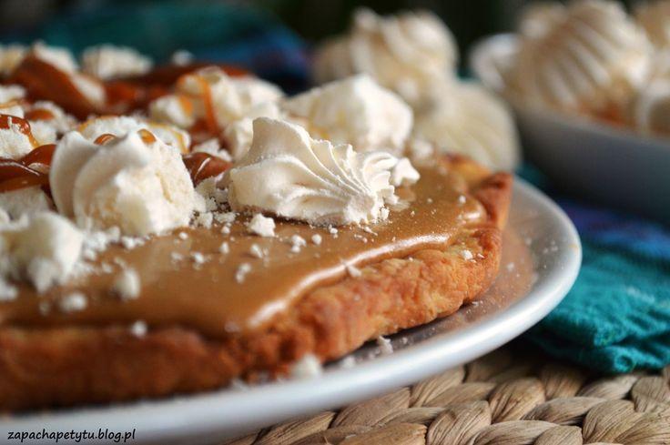 Coffee and salted caramel tart  #zapachapetytu #coffee #saltedcaramel #tart