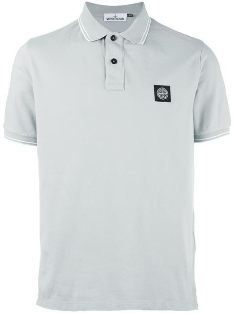STONE ISLAND piqué polo shirt. #stoneisland #cloth #shirt