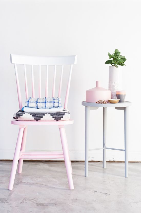 DIY Ombre Chair