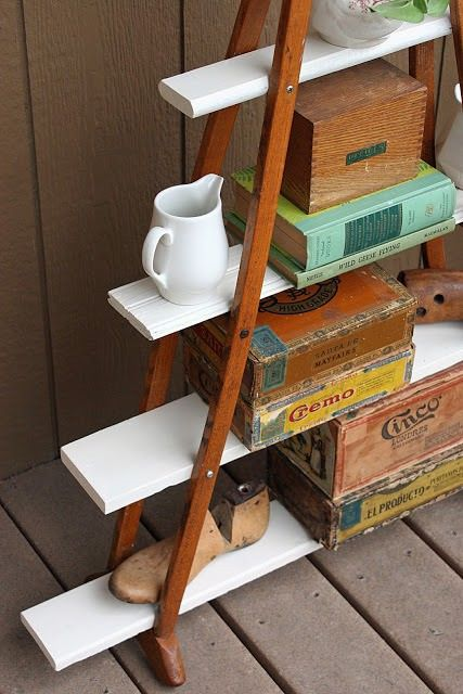 1000 Ideas About Crutches Shelf On Pinterest Upcycled