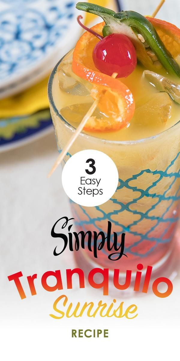 Summer is on the horizon, so make a drink filled with spicy-smooth refreshment.