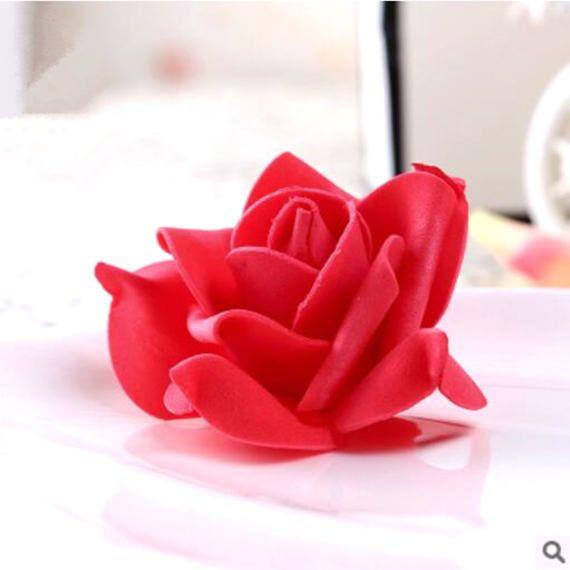 200 DIY Flower Ball Centerpiece/Foam Rose Wedding #DIYWedding #MakeYourWeddingYours #DIYCenterpieces