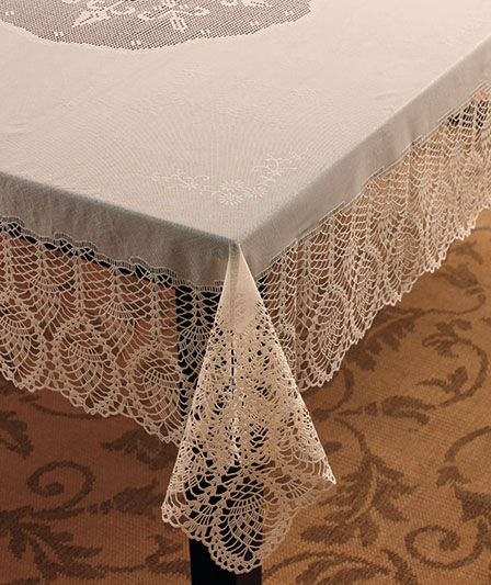 95 Best Images About Tablecloths On Pinterest Linens