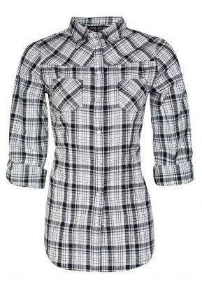 Grid Cotton Check Shirt  #2014 #fashion #tartan http://www.selectfashion.co.uk/clothing/s039-0102-23_mono.html
