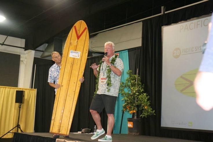RANDY RARICK at SURFBOARD AUCTION