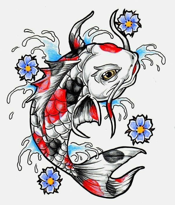 9 best koi tattoo images on pinterest koi fish tattoo for Koi fish quotes